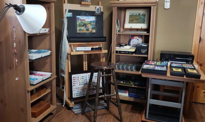 Art Studio - Lynda Baxter